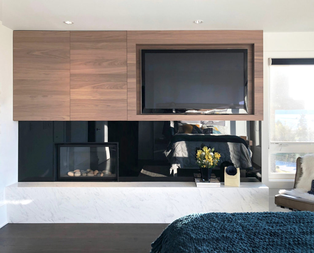 West_vancouver-fireplace - Alvan Homes - Home Renovation Vancouver